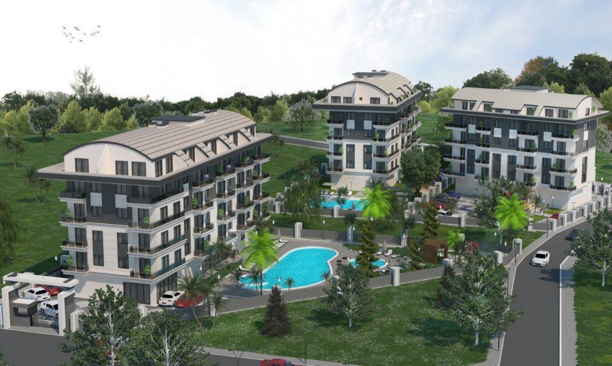Новый инвестиционный комплекс в европейском районе Оба Алании - Фото 5