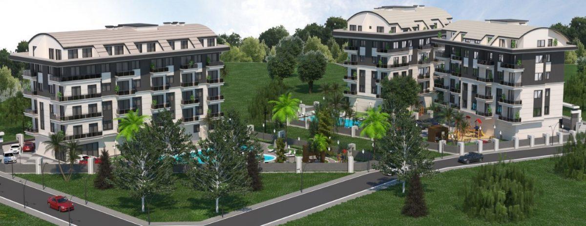 Новый инвестиционный комплекс в европейском районе Оба Алании - Фото 6