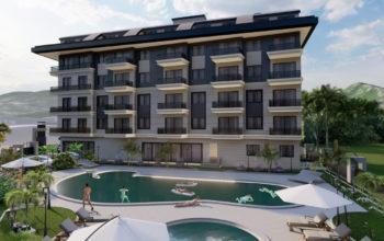 Новый инвестиционный комплекс в европейском районе Оба Алании