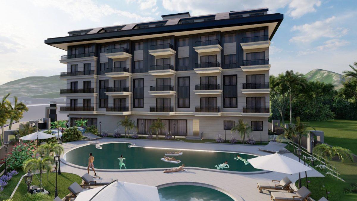 Новый инвестиционный комплекс в европейском районе Оба Алании - Фото 11