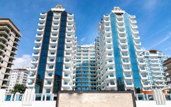 Люксовые апартаменты 2+1 в центре Махмутлара близко к морю