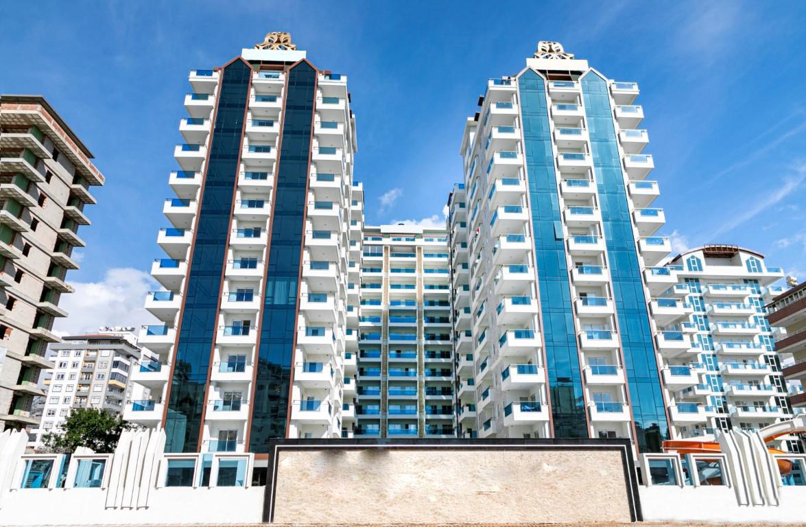 Люксовые апартаменты 2+1 в центре Махмутлара близко к морю - Фото 1