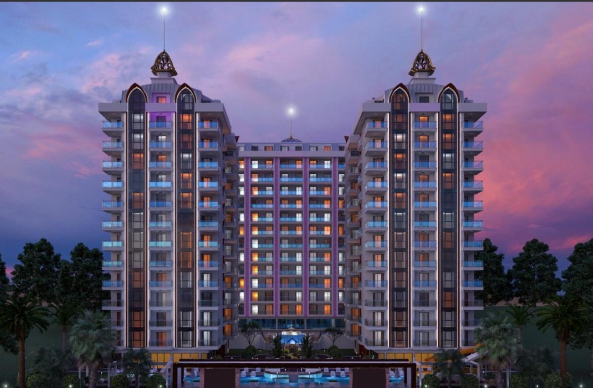 Люксовые апартаменты 2+1 в центре Махмутлара близко к морю - Фото 2