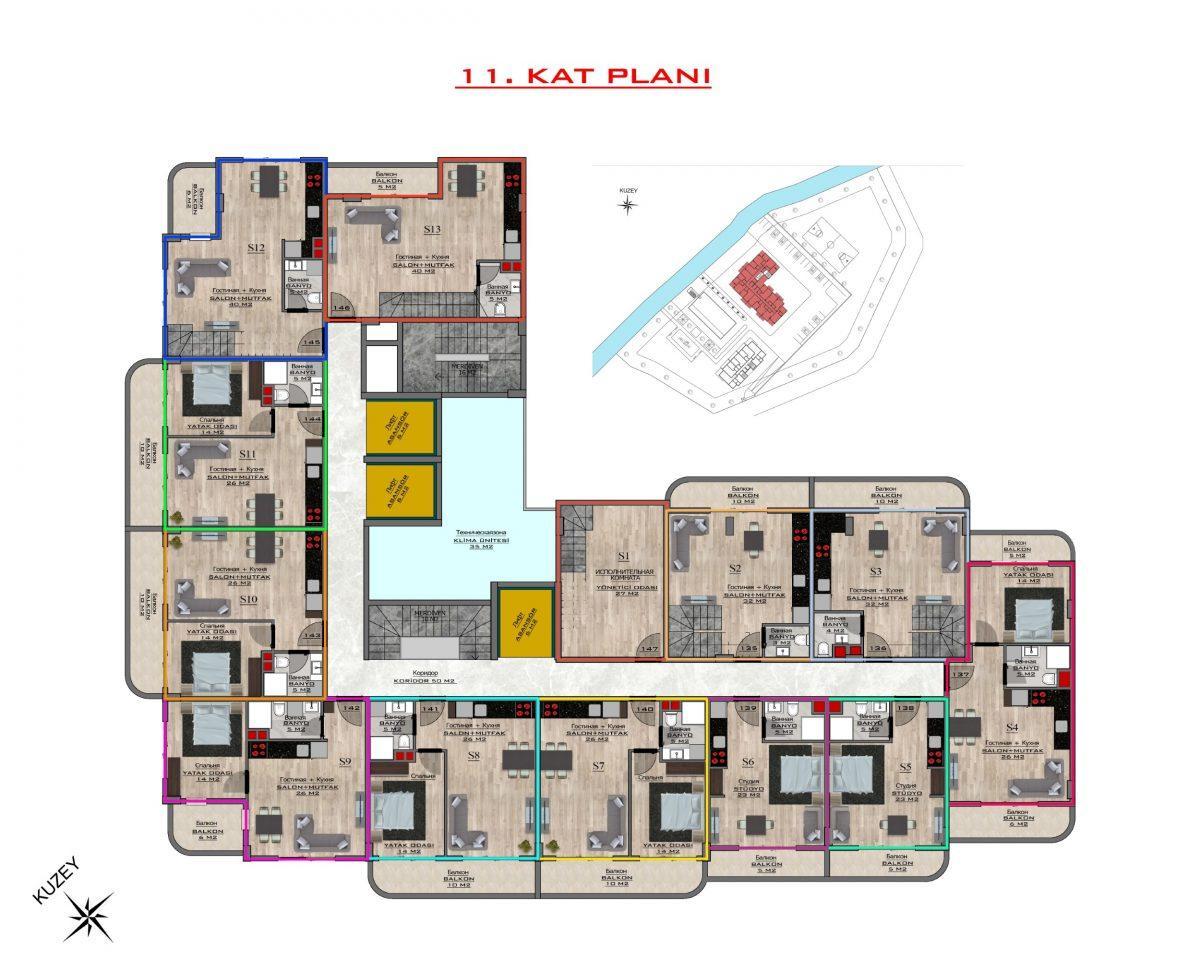 Новый бюджетный комплекс в Махмутларе - Фото 64