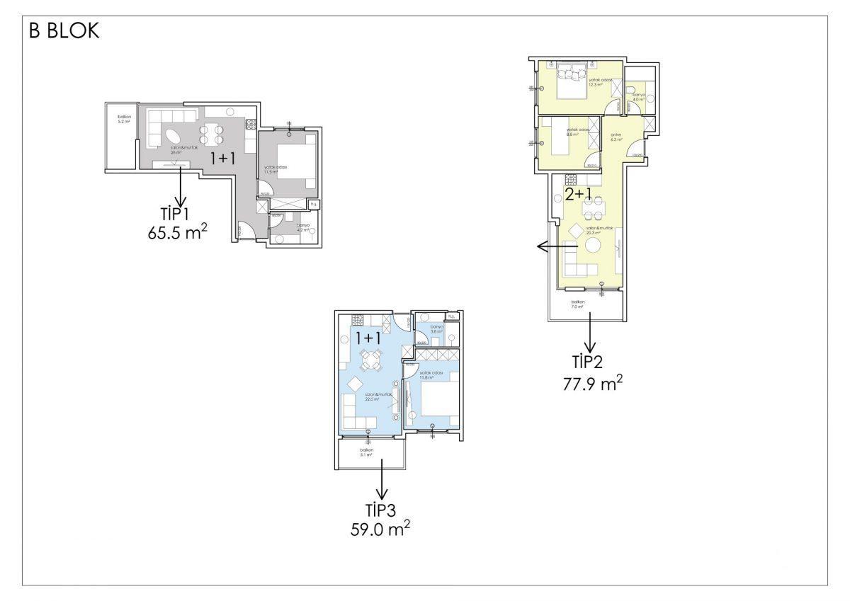 Апартаменты премиального класса в центре Алании - Фото 55