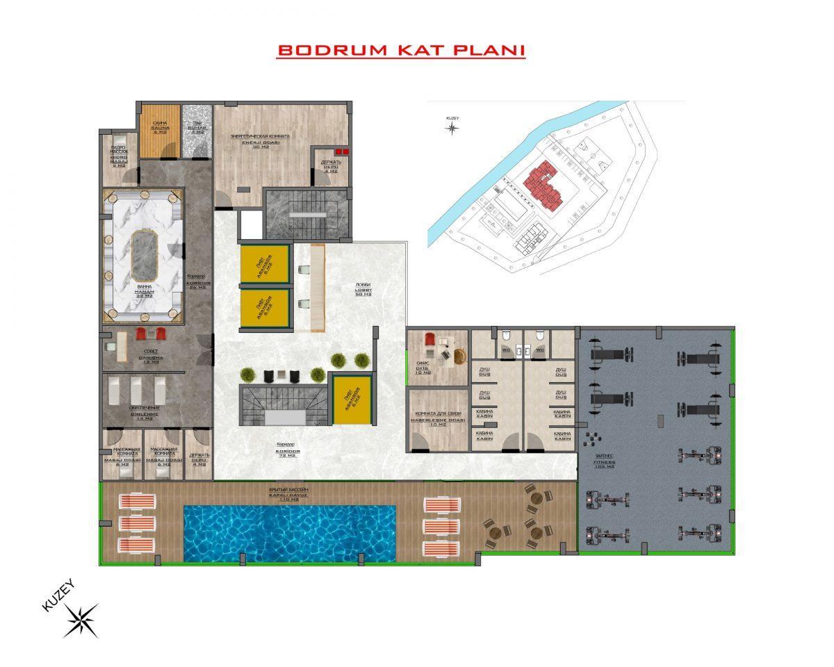 Новый бюджетный комплекс в Махмутларе - Фото 52