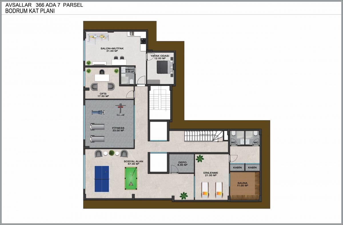 Новые квартиры по доступным ценам в районе Авсаллар - Фото 15