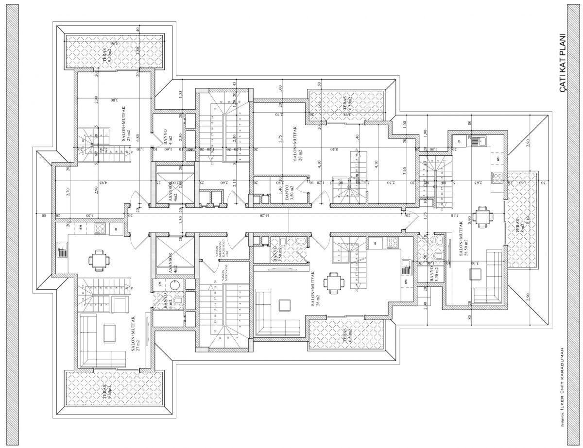 Квартиры в современном комплексе в Авсалларе - Фото 24