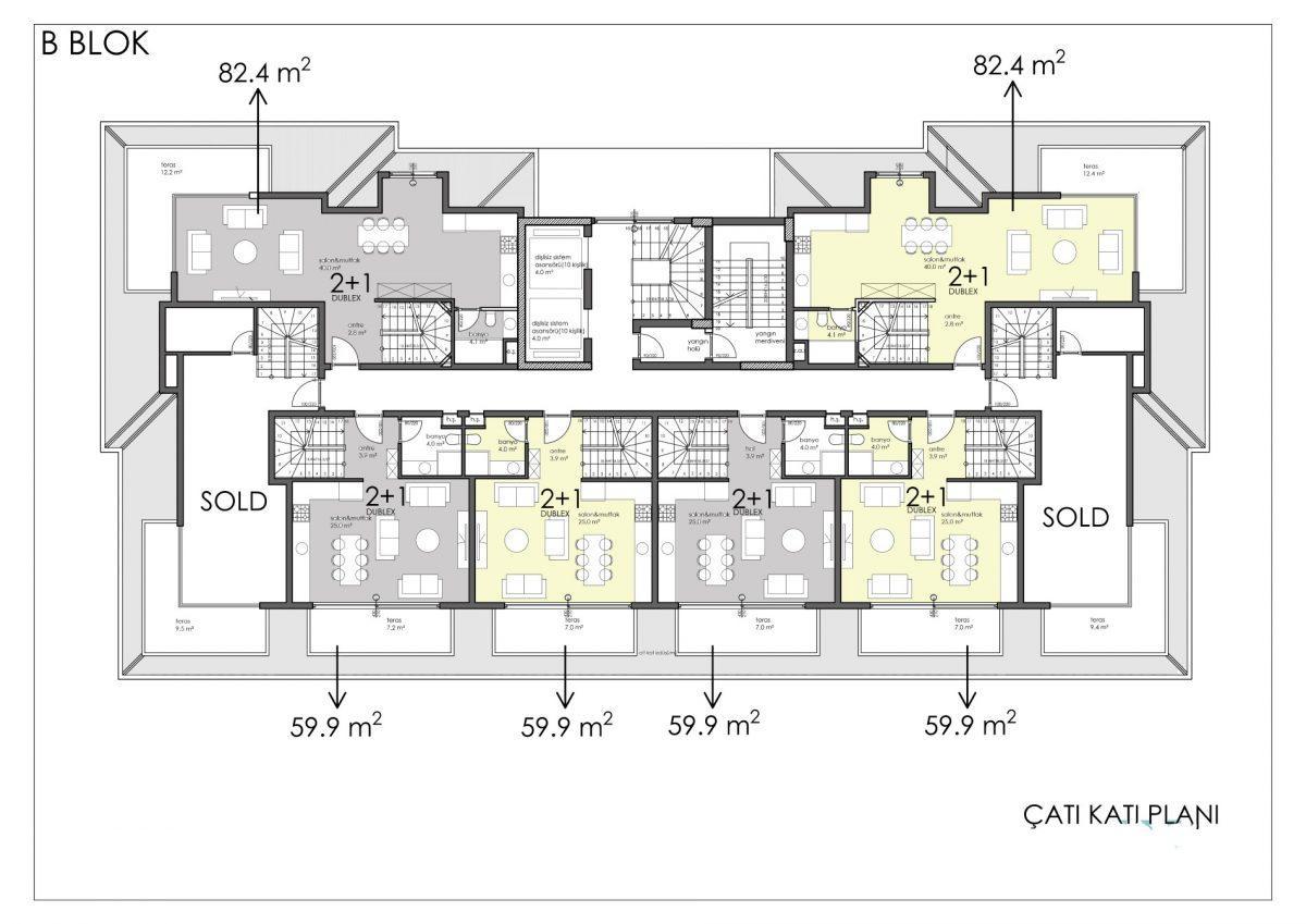 Апартаменты премиального класса в центре Алании - Фото 57