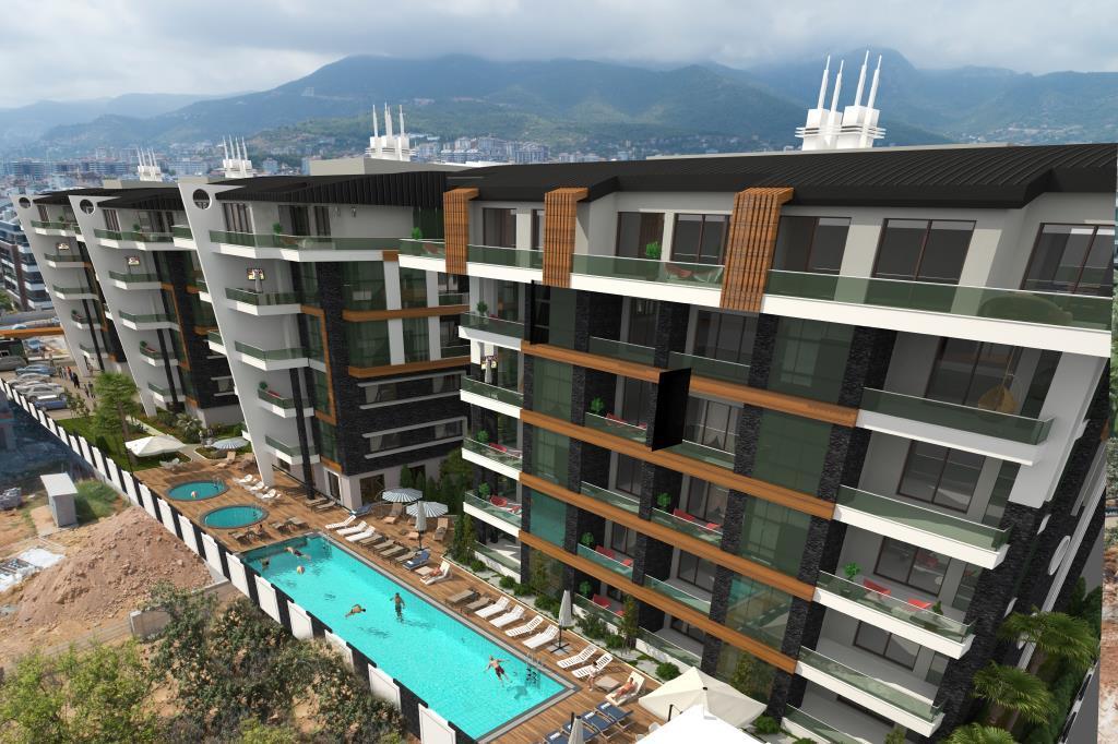 Квартиры в современном элитном комплексе в районе Оба - Фото 16