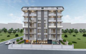 Новый комплекс в Махмутларе с доступными ценами
