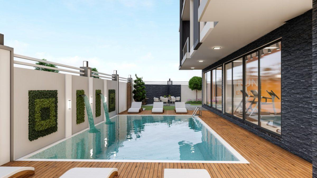 Новый комплекс в Махмутларе с доступными ценами - Фото 4