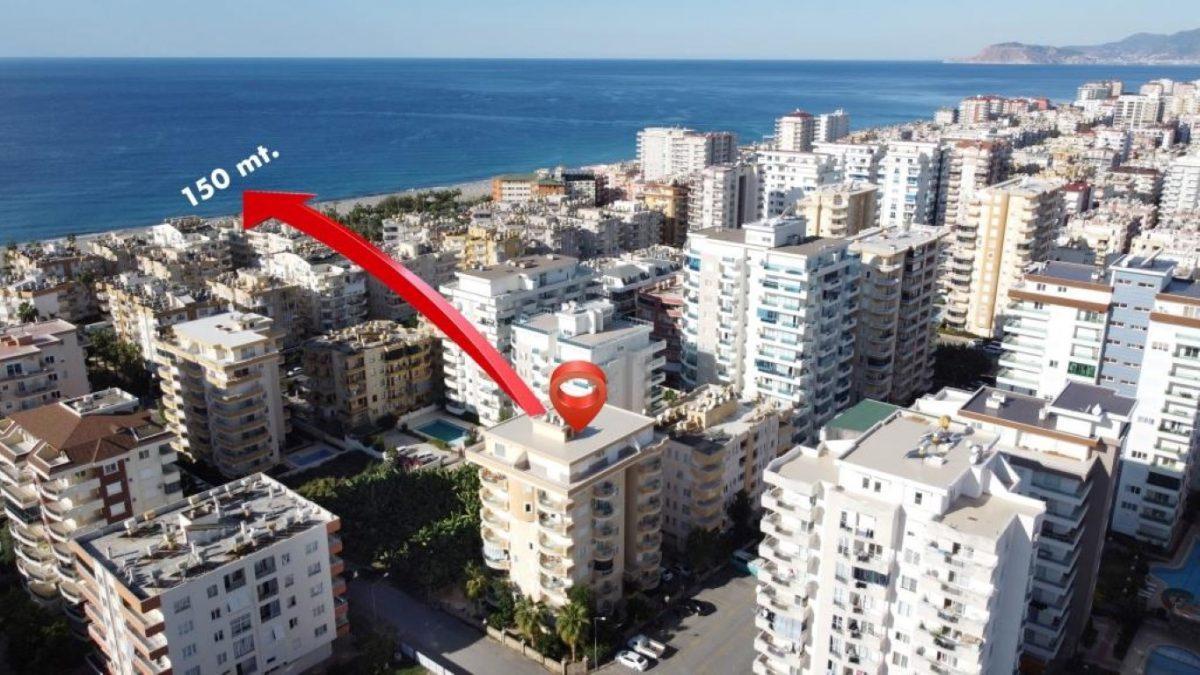 Меблированная квартира 2+1 рядом с морем в Махмутларе - Фото 20