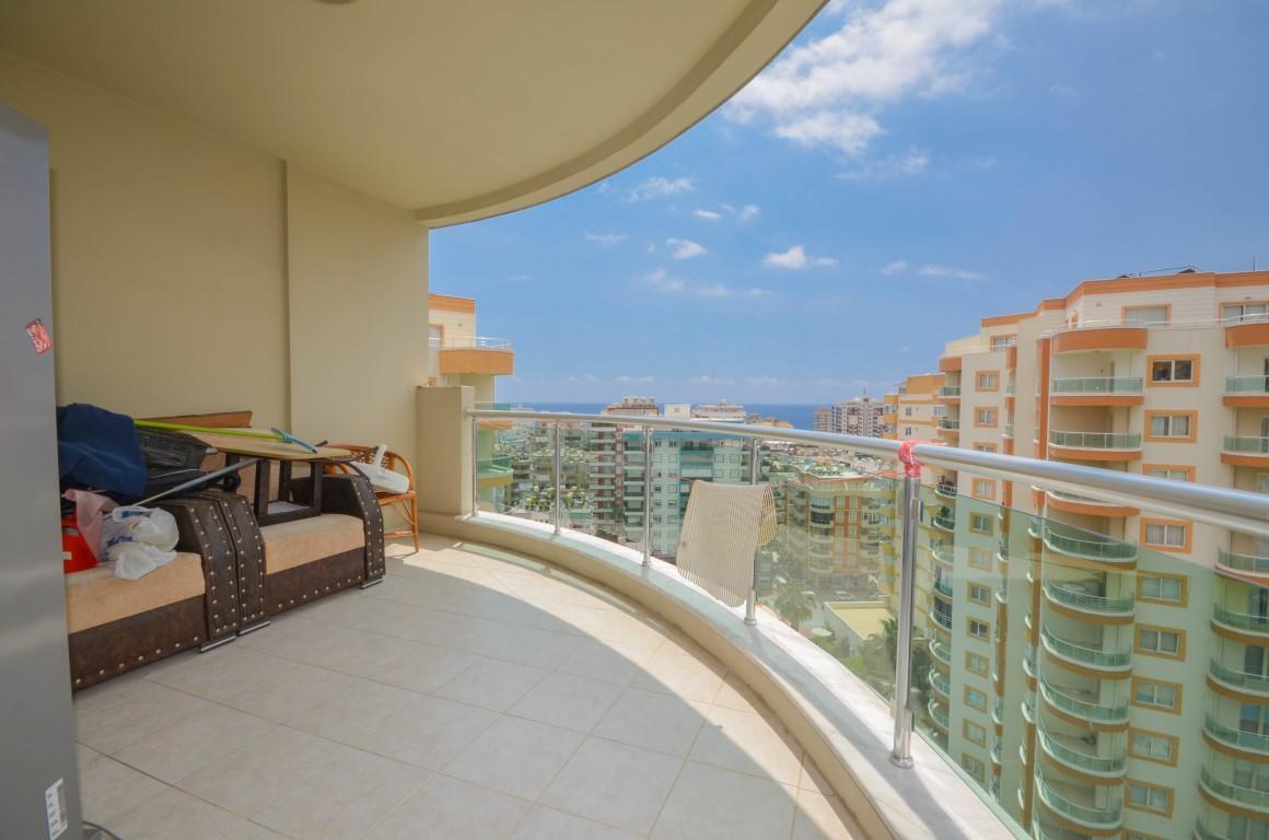 Меблированная квартира 2+1 с видом на море в уютном комплексе - Фото 16