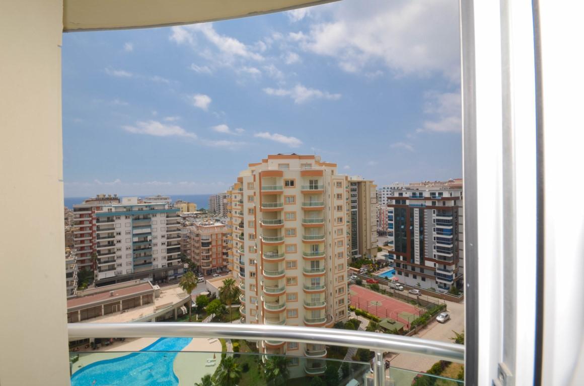 Меблированная квартира 2+1 с видом на море в уютном комплексе - Фото 27