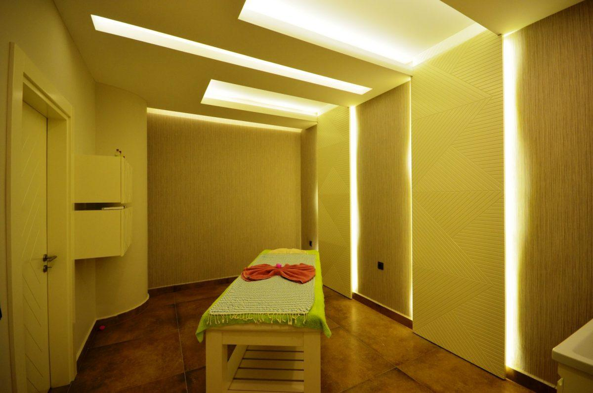 Меблированная квартира 2+1 в комплексе на первой линии с отельной инфраструктурой - Фото 35