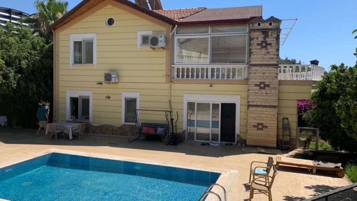 Роскошная вилла в Махмутларе с бассейном и мебелью - Фото 1