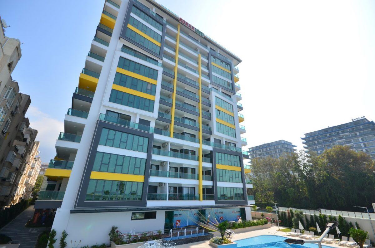 Меблированная квартира 2+1 в комплексе на первой линии с отельной инфраструктурой - Фото 41