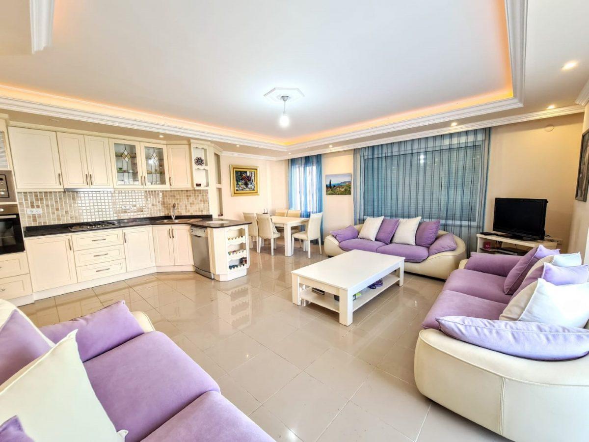 Меблированная квартира на первой линии в Махмутларе - Фото 10