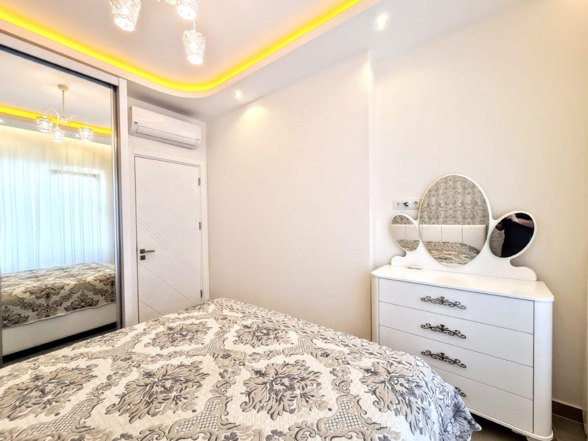 Просторная квартира 1+1 в комплексе люкс в Махмутларе - Фото 14