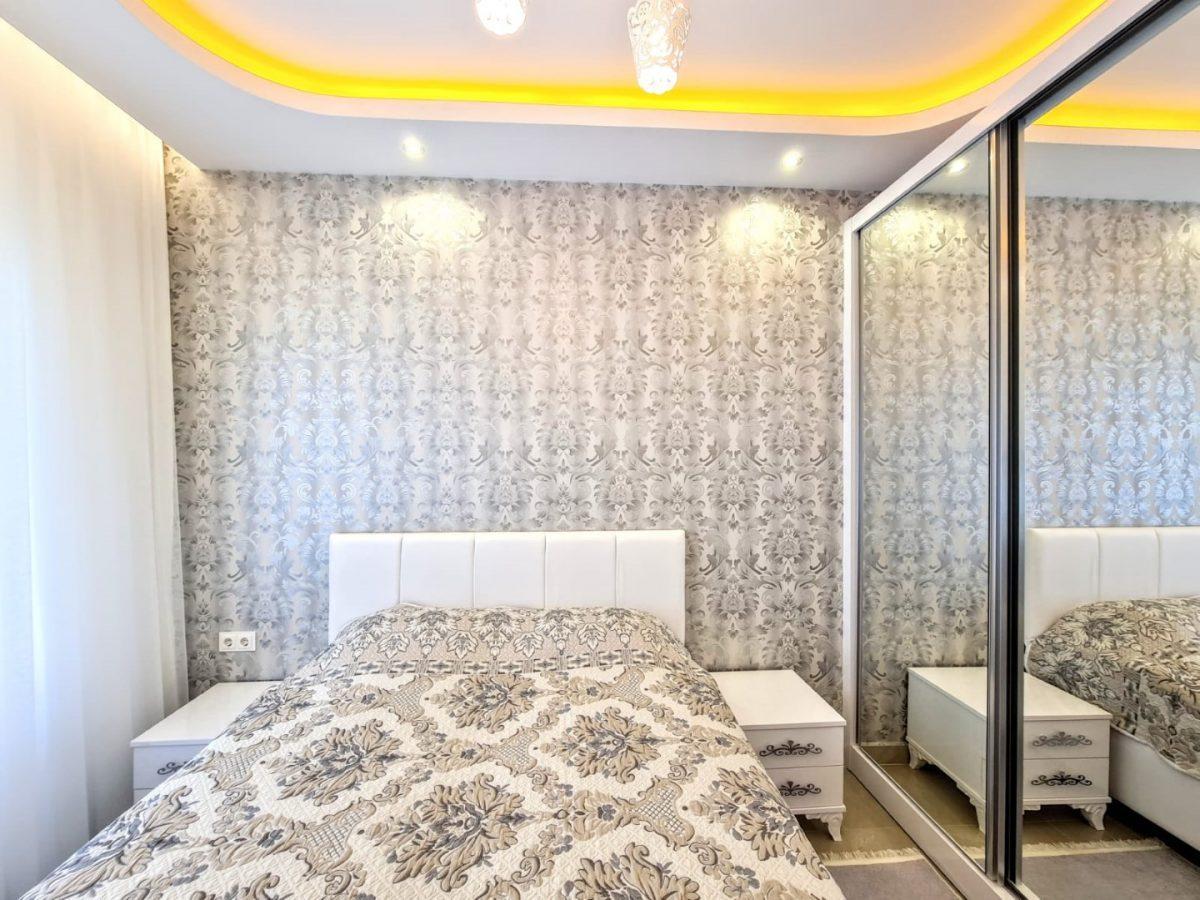 Просторная квартира 1+1 в комплексе люкс в Махмутларе - Фото 11