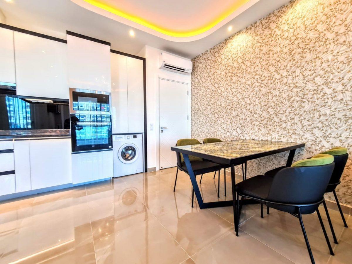 Просторная квартира 1+1 в комплексе люкс в Махмутларе - Фото 12