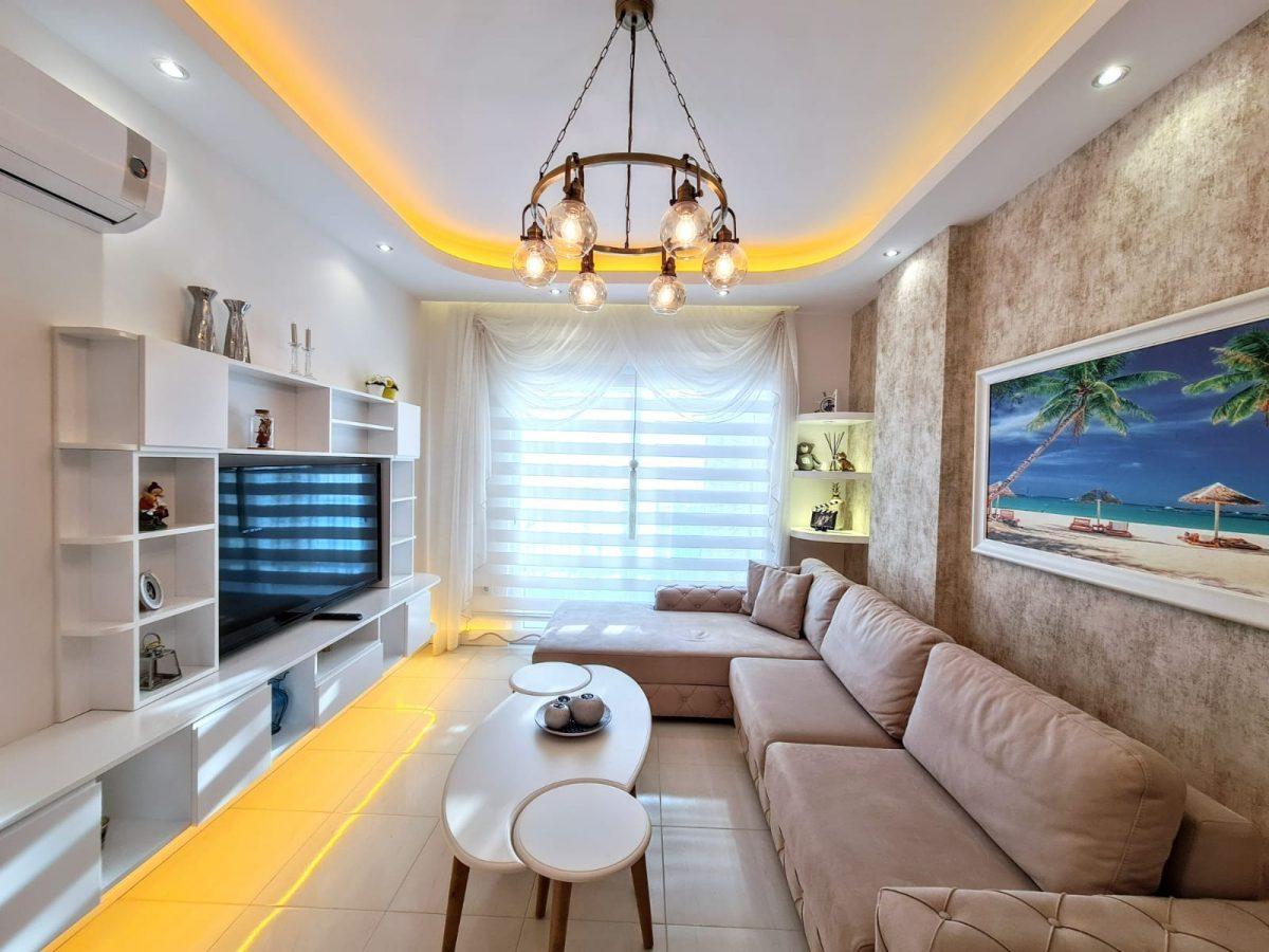 Стильная меблированная квартира в шаговой доступности от моря 1+1 в Махмутлар - Фото 4