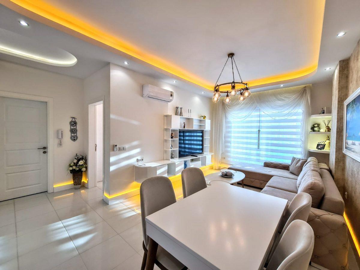 Стильная меблированная квартира в шаговой доступности от моря 1+1 в Махмутлар - Фото 5