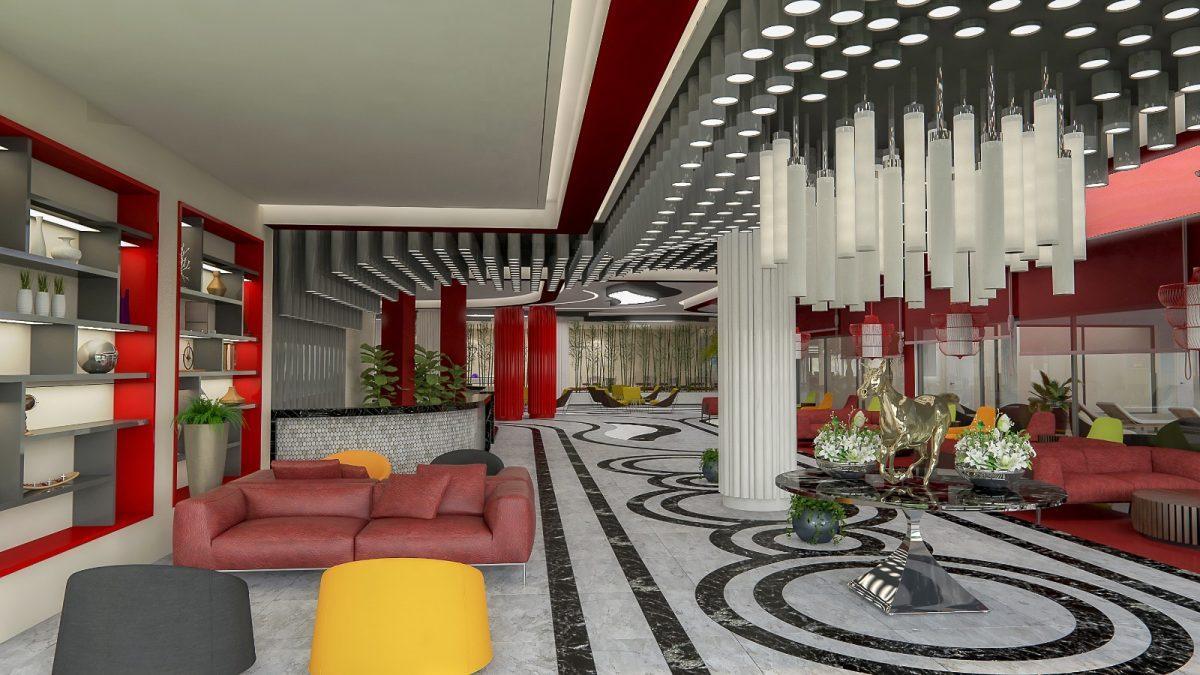 Квартира 1+1 в комплексе люкс в Каргыджаке - Фото 33