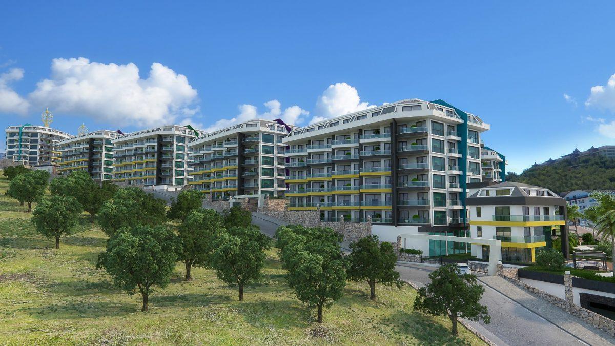 Квартира 1+1 в комплексе люкс в Каргыджаке - Фото 1