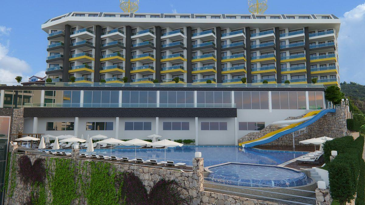 Квартира 1+1 в комплексе люкс в Каргыджаке - Фото 5