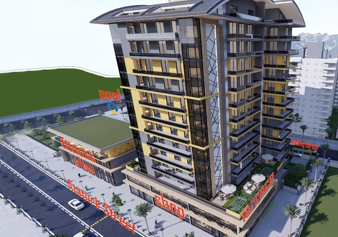 Апартаменты в центре Махмутлара  - Фото 2