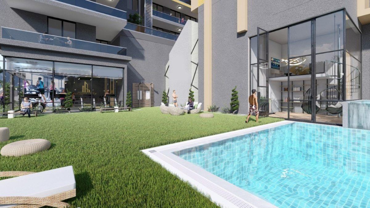Апартаменты в центре Махмутлара  - Фото 5