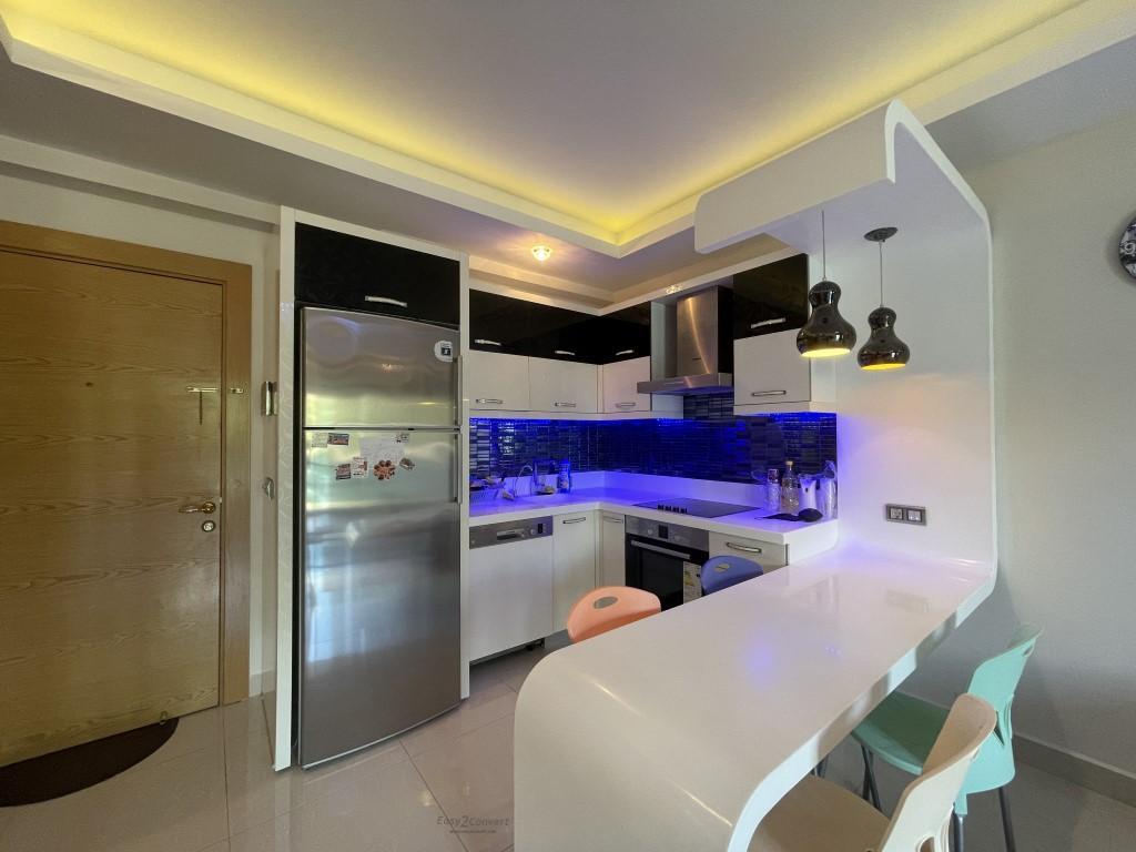 Меблированная квартира 1+1 в комплексе с отельной инфраструктурой - Фото 26