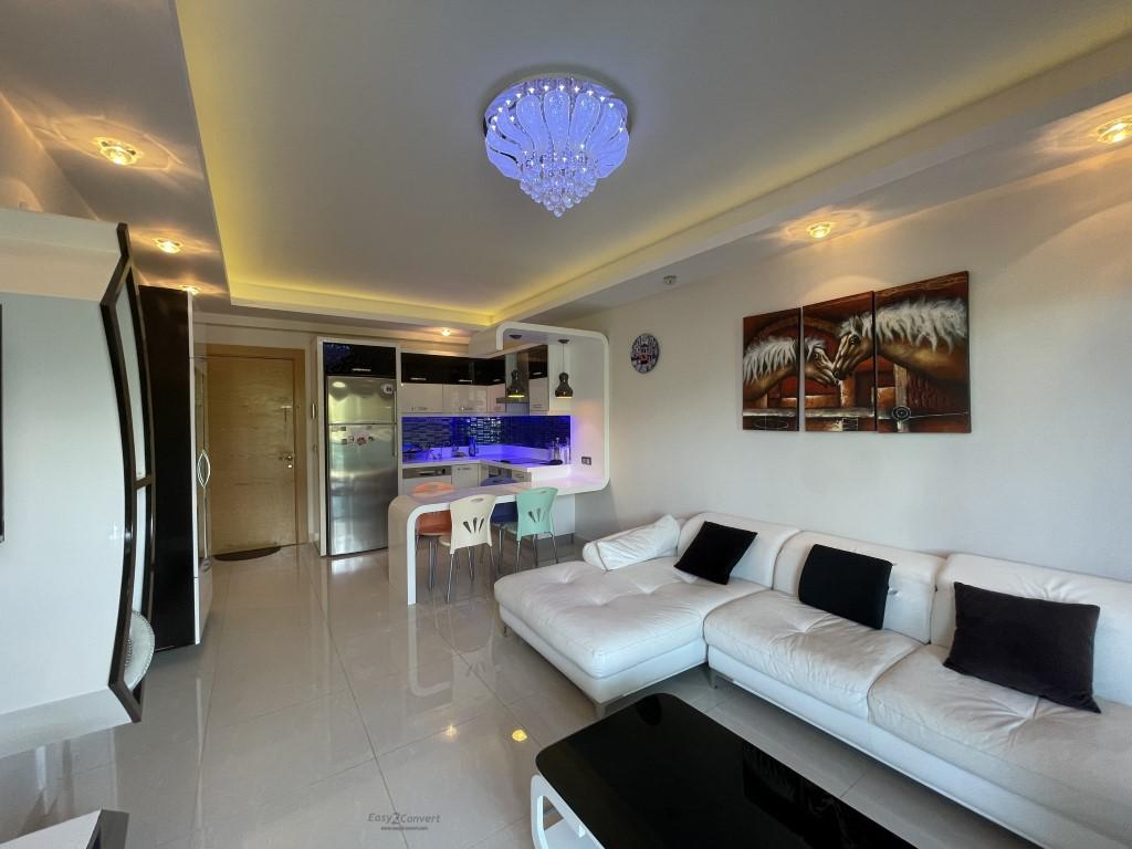 Меблированная квартира 1+1 в комплексе с отельной инфраструктурой - Фото 30