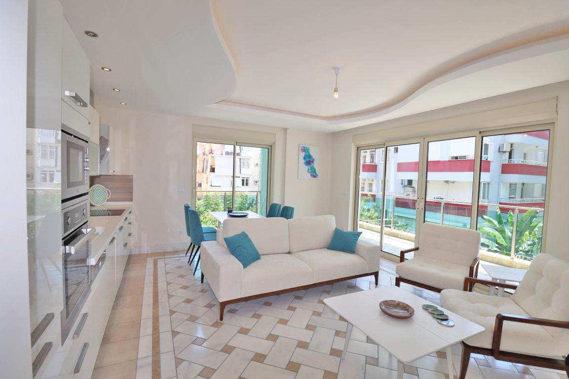 Меблированная квартира 2+1 в хорошем комплексе рядом с пляжем Клеопатра - Фото 26
