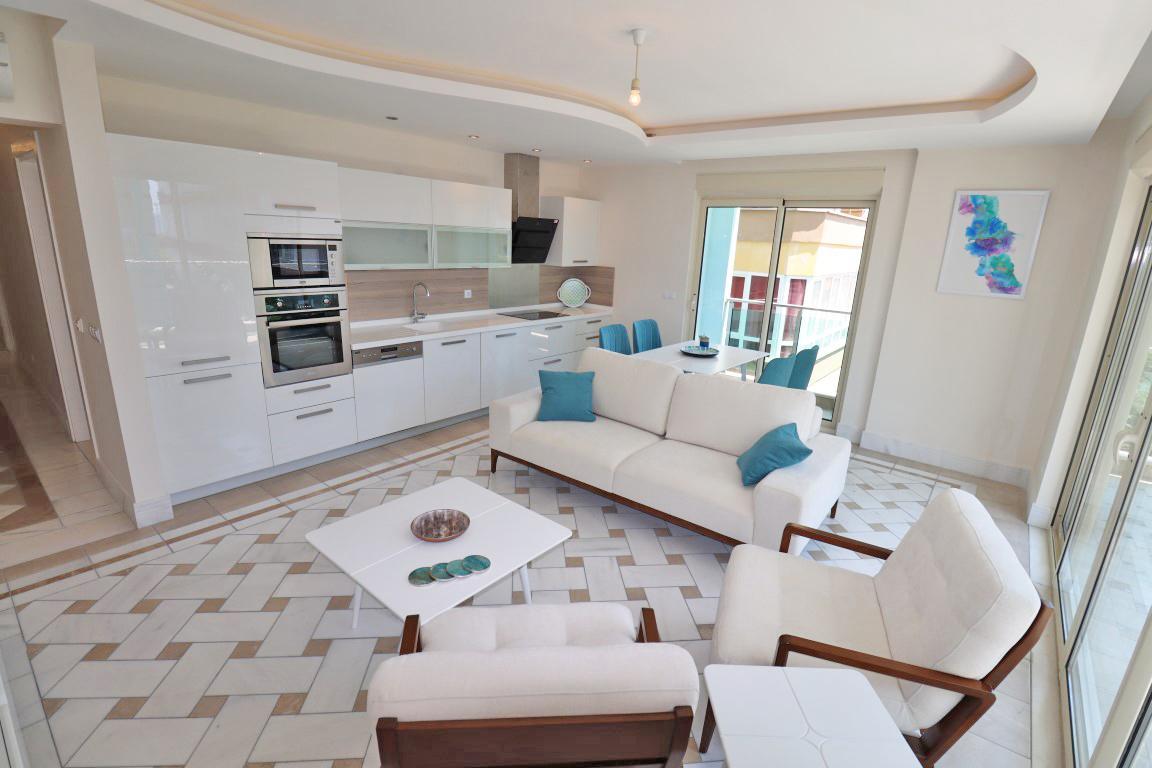 Меблированная квартира 2+1 в хорошем комплексе рядом с пляжем Клеопатра - Фото 27