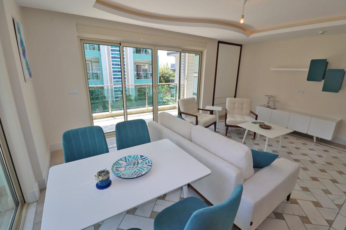 Меблированная квартира 2+1 в хорошем комплексе рядом с пляжем Клеопатра - Фото 28