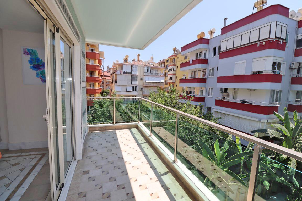 Меблированная квартира 2+1 в хорошем комплексе рядом с пляжем Клеопатра - Фото 34
