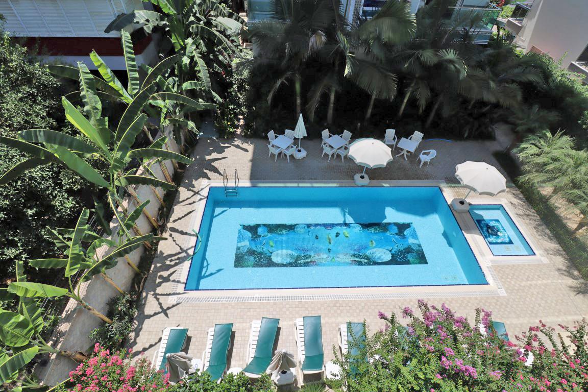 Меблированная квартира 2+1 в хорошем комплексе рядом с пляжем Клеопатра - Фото 4