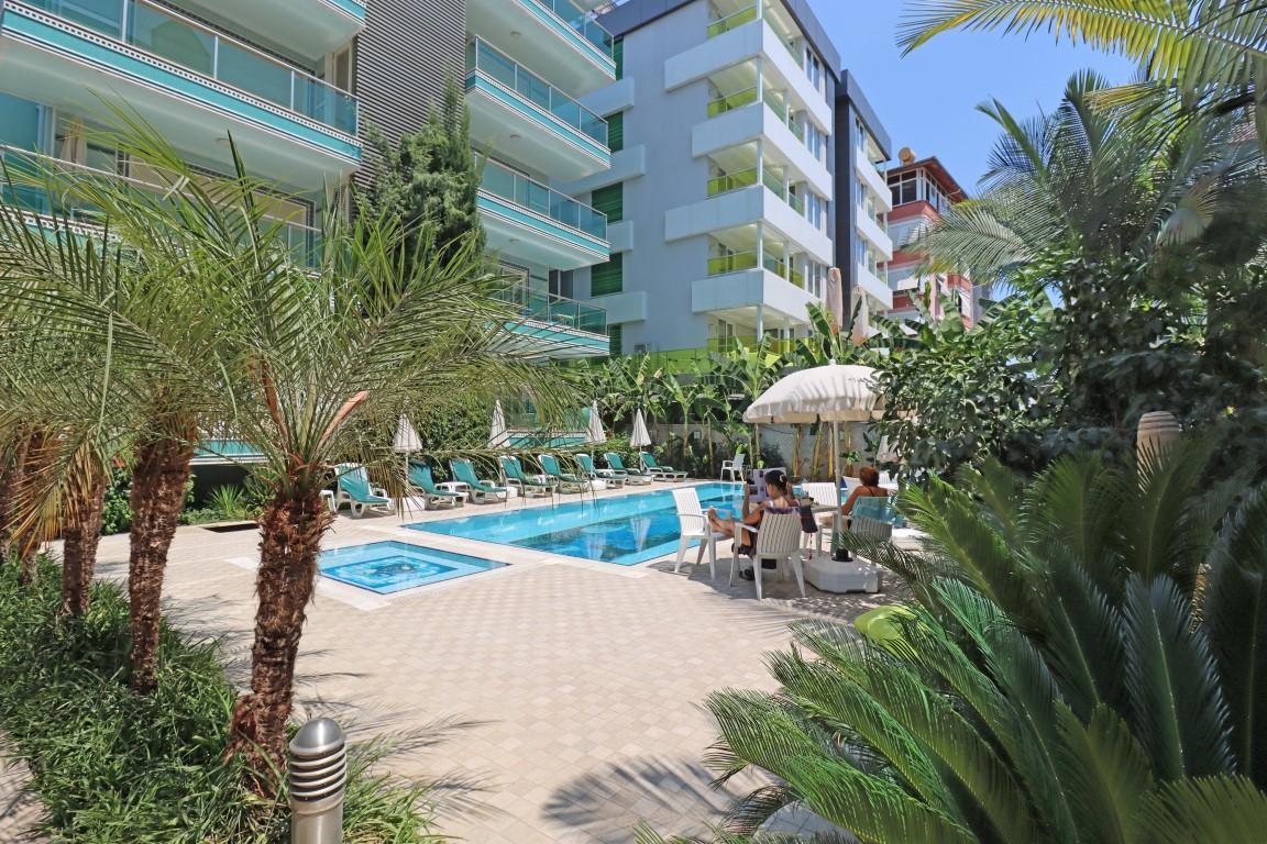 Меблированная квартира 2+1 в хорошем комплексе рядом с пляжем Клеопатра - Фото 7
