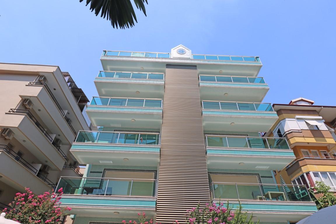 Меблированная квартира 2+1 в хорошем комплексе рядом с пляжем Клеопатра - Фото 10