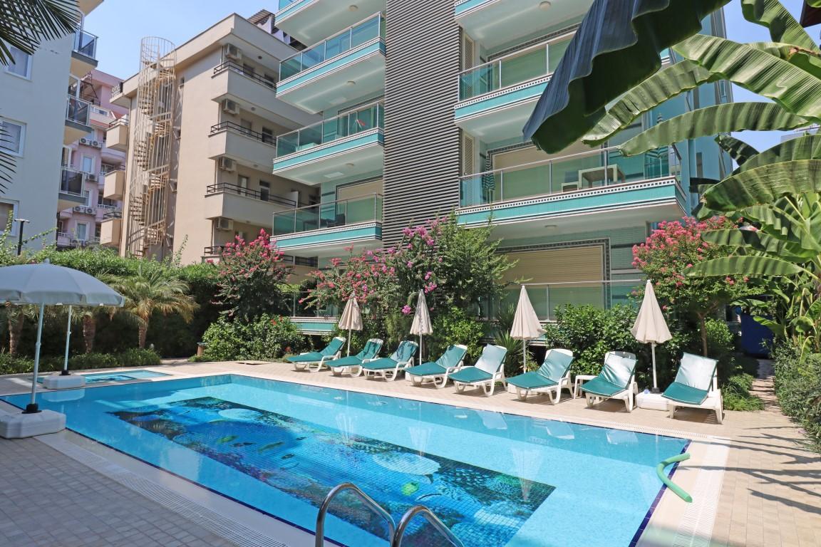 Меблированная квартира 2+1 в хорошем комплексе рядом с пляжем Клеопатра - Фото 1