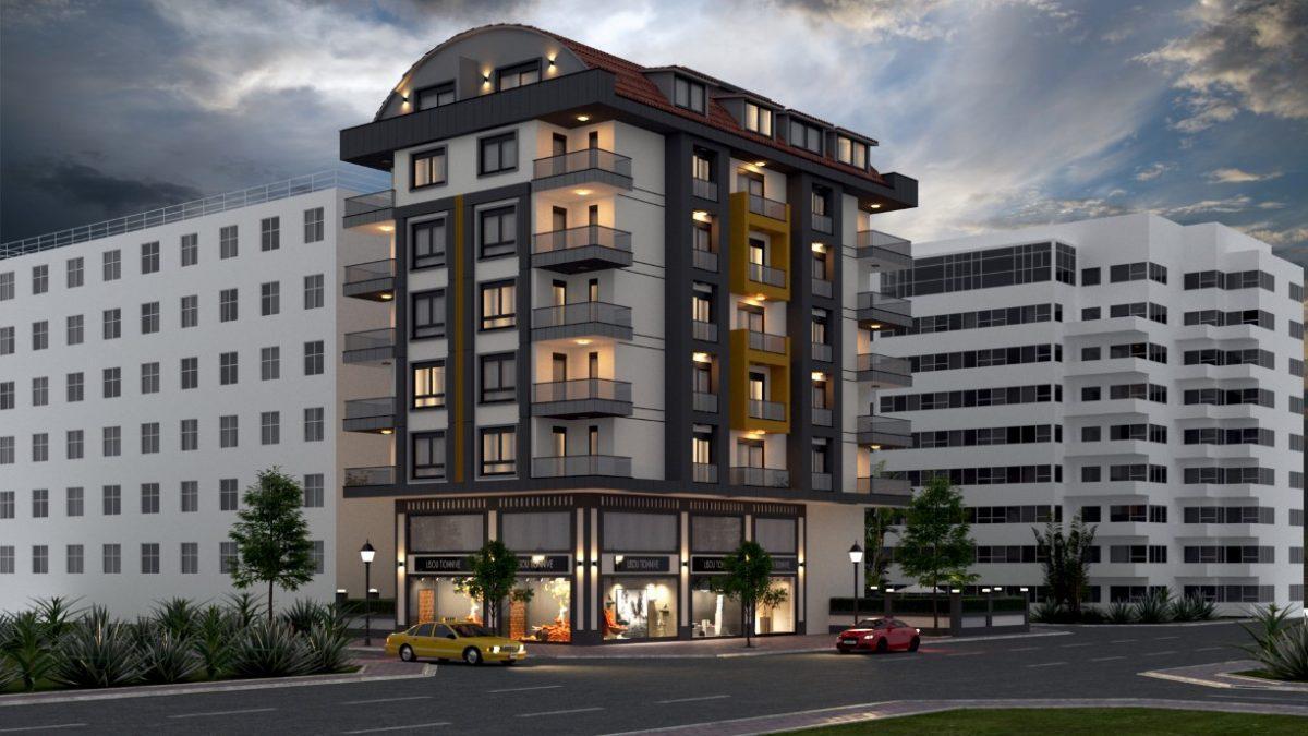 Проект уютного жилого комплекса в популярном районе Махмутлар - Фото 1