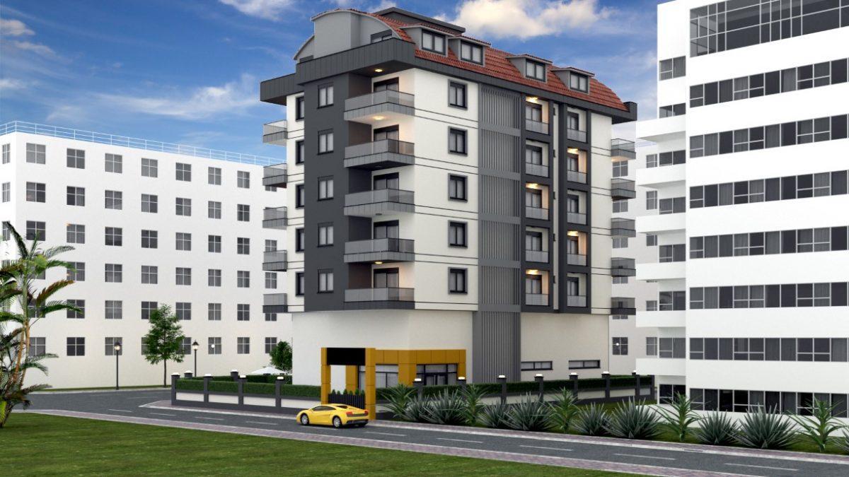 Проект уютного жилого комплекса в популярном районе Махмутлар - Фото 3