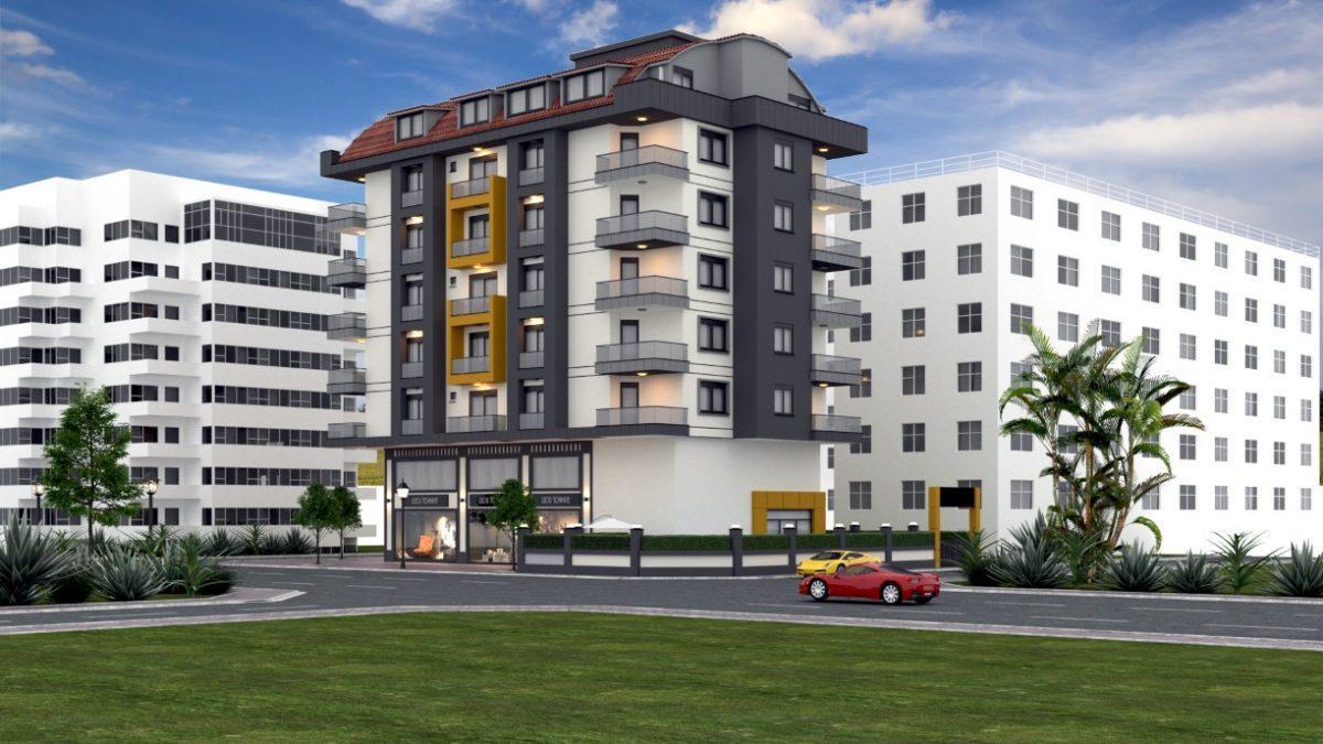 Проект уютного жилого комплекса в популярном районе Махмутлар - Фото 4