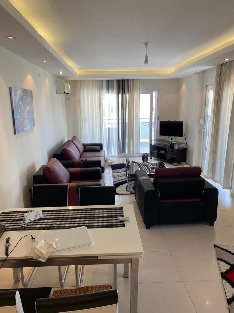 Уютная меблированная квартира в Махмутлар - Фото 14