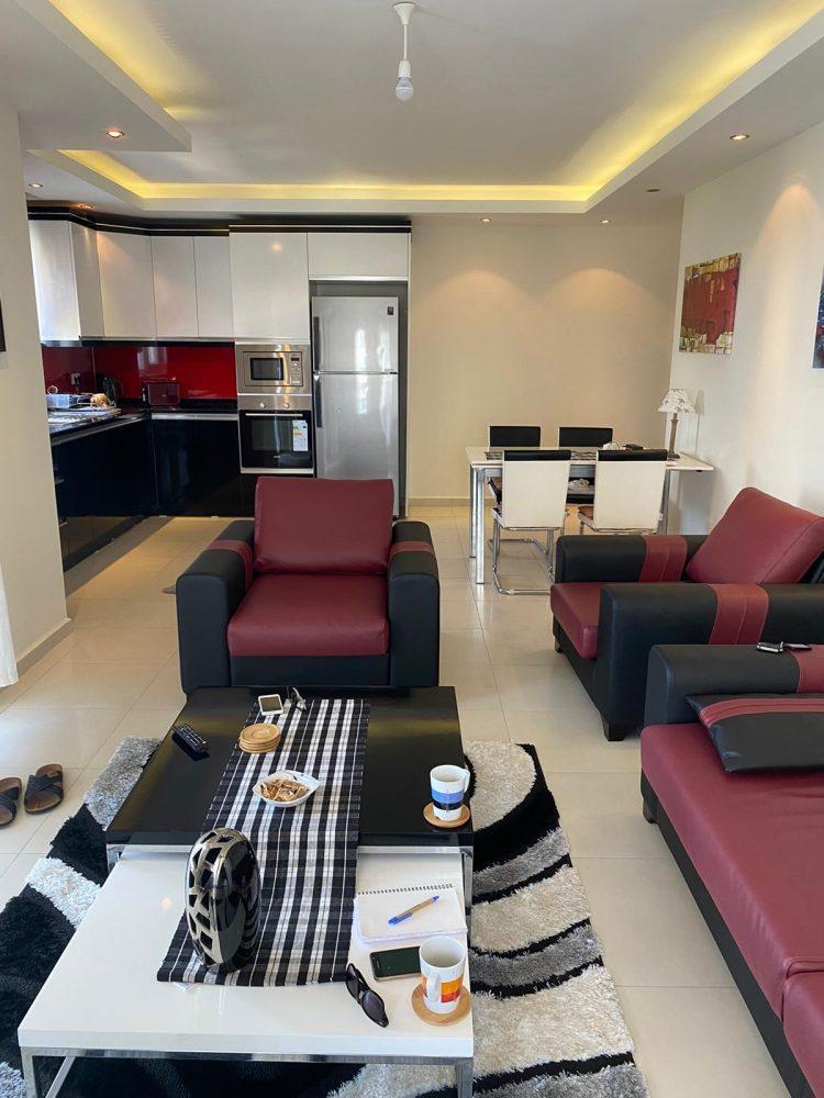 Уютная меблированная квартира в Махмутлар - Фото 16