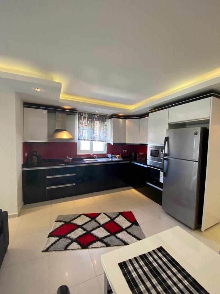 Уютная меблированная квартира в Махмутлар - Фото 10