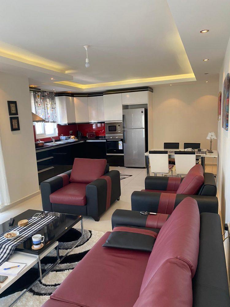 Уютная меблированная квартира в Махмутлар - Фото 12